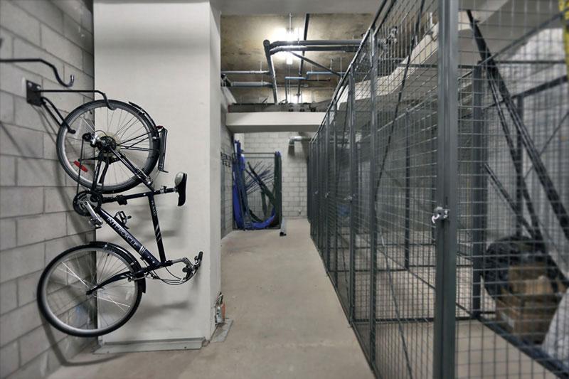Casiers et vélo